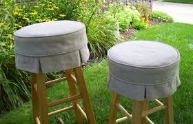 Bar Stool Seat Covers Bar Stool Covers Round Cushion Round Designs