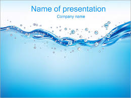 Water Powerpoint Templates by Abstract Water Powerpoint Template Backgrounds Id 0000002630