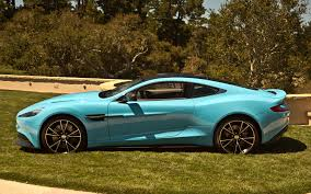 old aston martin db9 aston martin vanquish blue specs and review