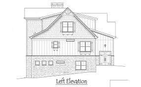 2 story 5 bedroom rustic lake cottage house plan