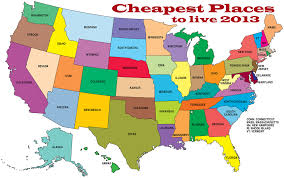 cheapest us states to live in cheapest places to live 2013 real estate tips pinterest real