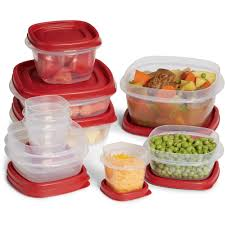 Food Storage Container Sets - rubbermaid easy find lids food storage container set 20 piece