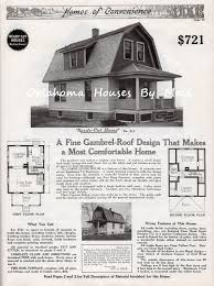 gambrel roof house floor plans a whole town of gordon van tine homes oklahoma houses by mail