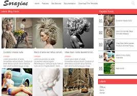 sorazine modern blogger template u2022 blogspot templates 2017