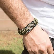 paracord bracelet style images Camo paracord bronze flag bracelet helps pair veterans with a jpg