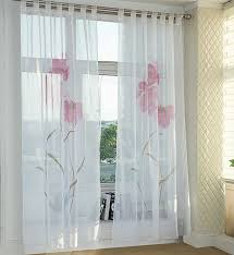 Dining Room Brilliant Curtains Drapes Valances Ebay Sheer Window - Home window curtains designs