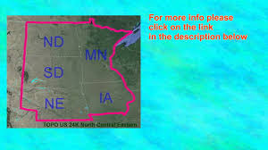 Garmin Usa Maps by Garmin Topo U S 24k Northern Plains Maps Youtube