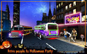 party bus halloween party bus driver 3d android apps on google play