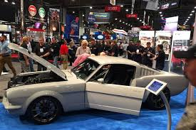 mustang auto shop introducing vapor mustang unveiled at sema tensema16