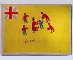 Colonial Flag Colonial Asafo Fante Flag Colonial Arts