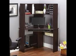 morgan computer desk with hutch espresso youtube