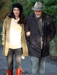 george and amal clooney nested in england before twins people com