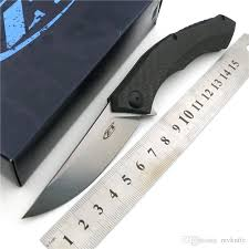 folding kitchen knives magic zt 0460 cf bearing folding knife d2 carbon fibe carbon