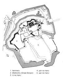 Himeji Castle Floor Plan Art 251 Study Page