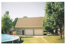 Two Story Pole Barn Garages Sheds And Outbuildings St Louis Building Systems Llc