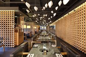office yakiniku master restaurant design by golucci international