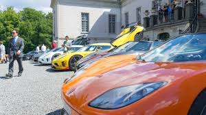 koenigsegg yellow the 2017 koenigsegg owners u0027 meet was a rolling of swedish