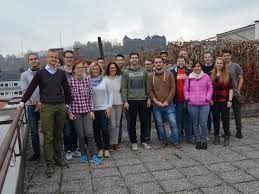 erdf si e social visit of students of the alpen adria klagenfurt to the