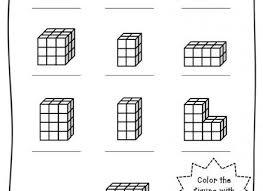 geometry counting volume worksheet educationcom volume