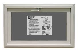 vinyl basement hopper window precise forms inc