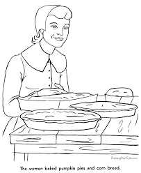 printable story thanksgiving coloring pages 010
