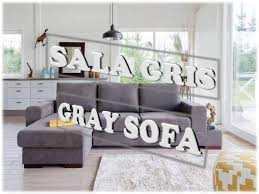 sala gris gray sofa ideas youtube