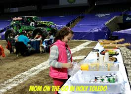 monster truck show cleveland monster jam fun mom on the go in holy toledo
