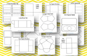 36 editable lapbook and fold it templates by amber polk tpt