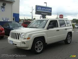 2008 jeep patriot sport 4x4 2008 jeep patriot sport 4x4 in white clearcoat 514491