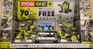 home depot ryobi black friday bogo free ryobi tool deal at home depot freebies2deals