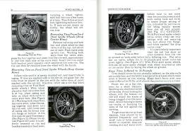 ford model t shop repair manuals construction operation guides