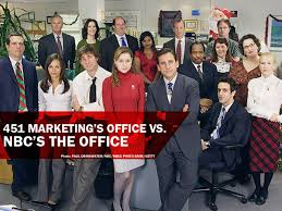 Job Desk Marketing Bank 451 Marketing U0027s Office Vs Nbc U0027s The Office 451 Heat