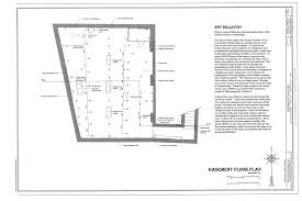 file basement floor plan tremont house 101 east main street
