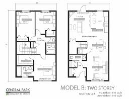 residential home plans house plan awesome two storey semi detached house plans