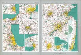 Cleveland State University Map The National Atlas Of The United States Of America Perry