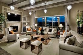 a minimalist living room hanging lighting radiating beauty and