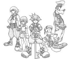 kingdom hearts coloring pages u003e kingdom hearts u003e kingdom