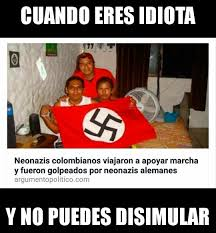 Colombia Meme - idiotas nivel colombia meme by aquifher memedroid