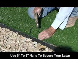 How To Make A Putting Green In Your Backyard Realgrass At Home Depot Synthetic Artificial Turf Installation