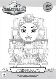 cartoon thomas tank engine coloring sheets printable kids
