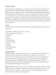 Introduction To A Business Letter by Download Guide To Basic Business Letters Docshare Tips