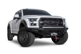Ford Raptor Options - add honeybadger front bumper raptorparts com