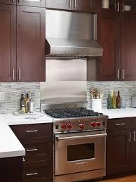 Dark Kitchen Cabinets With Light Countertops - dark cabinets light backsplash adorable