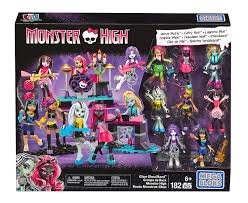 amazon mega bloks monster glam ghoul band building kit