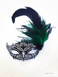 green mardi gras mask emerald green feather masquerade mask green mardi gras masks