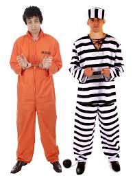 prison jumpsuit costume prisoner convict jumpsuit handcuffs prison boiler suit fancy