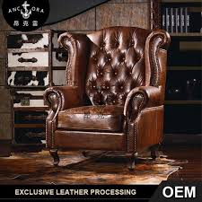 Leather High Back Armchair High Wing Back Chairs High Wing Back Chairs Suppliers And