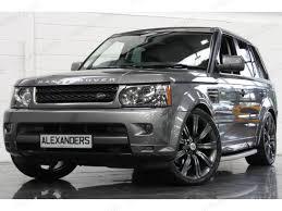 range rover sport custom wheels 22 inch range rover sport stormer titanium grey alloy wheels 4x4