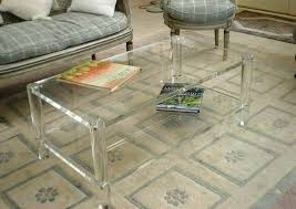 Plexiglass Coffee Table Plexiglass Coffee Table Collection In Plexiglass Coffee Table
