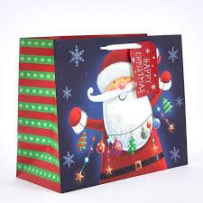 large christmas gift bags santa large christmas gift bag card factory